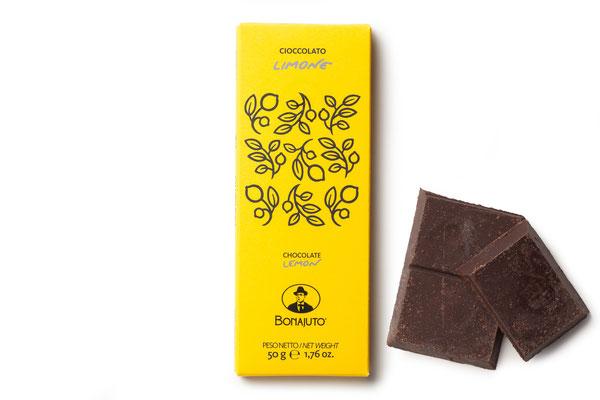 LEMON FLAVOR MODICA CHOCOLATE (50gr)