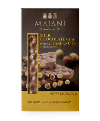 Snap Collection: Milk Chocolate & Whole Hazelnuts (250g)