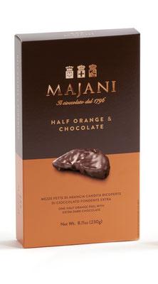 Orange Peels covered in dark chocolate (230g)