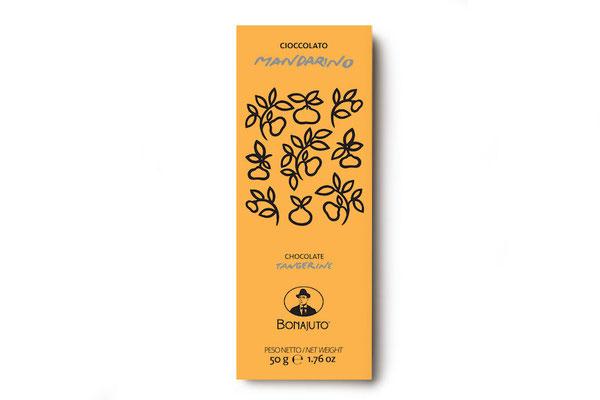 MANDARIN FLAVOR MODICA CHOCOLATE (50gr)