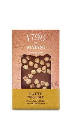 Le Golose Collection: Milk chocolate & whole hazelnuts (115g)