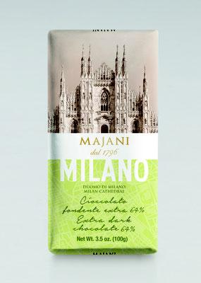 City Milano dark chocolate bar