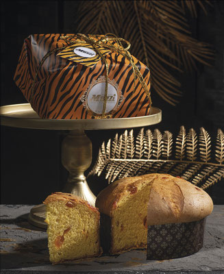 Panettone apricot Animalier collection design 1kg