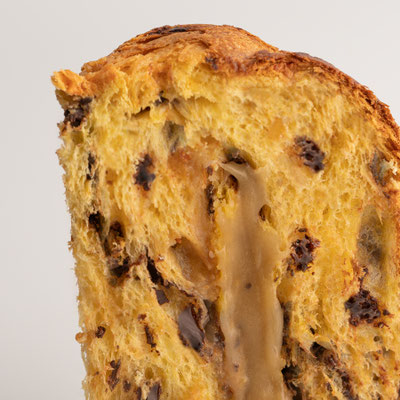 Panettone Salted Caramel & Chocolate Drops Box (1kg)