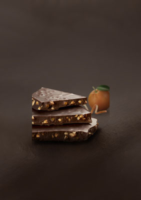 Snap Collection: Dark Chocolate & Orange Peels (250g)