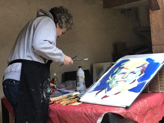 Sévecommande de portraits, severine saint-maurice, lescerclesdelumiere, peinture à l'huilerine Saint-Maurice, lescerclesdelumiere.com
