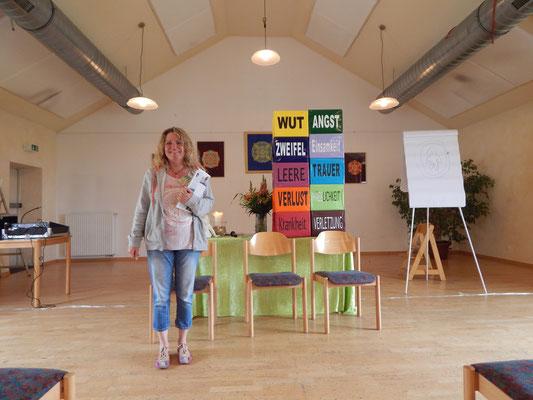 Liane Ott - nicht nur eine gute Organisatorin, auch eine charmante Moderatorin :-)