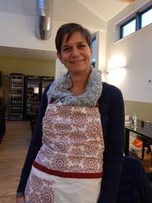 Christin als zauberhafte Bäckermeisterin Rita Roggenbrot