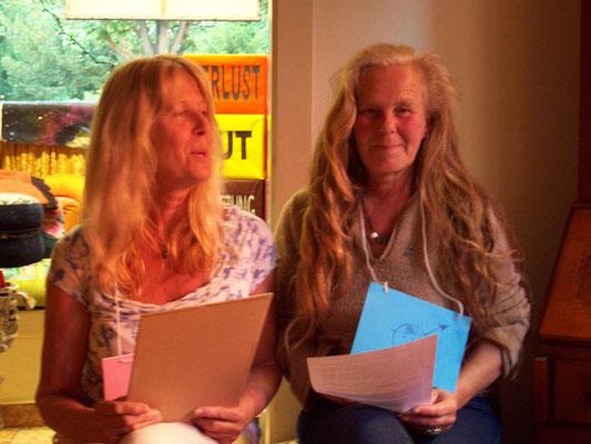 Für Karin (links) und Gudrun gab es jede Menge zu tun ;-)