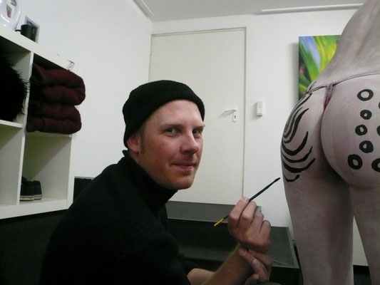 ... Bodypainting im Studio
