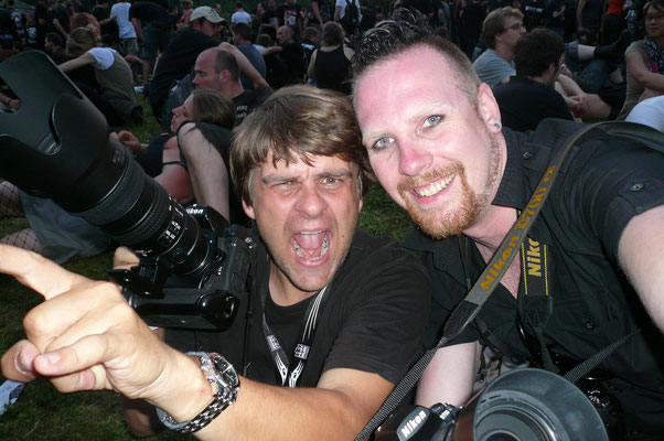 ... Konzertfotografie beim Blackfieldfestival