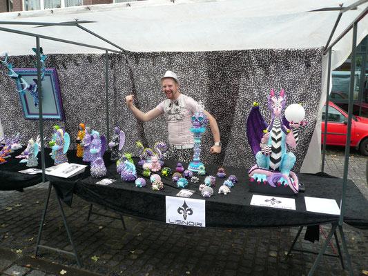 ... Spaß beim Ruhrorter Kunstmarkt