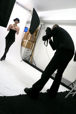 """... Fotoshooting für """"Mode Wichtig"""""""