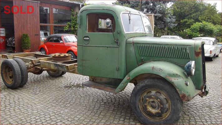 Opel Blitz Typ 3,6 - 42 T30 Bj. 1940 Militär