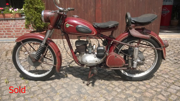 MZ RT 125-2 Bj. 1959