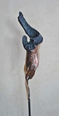 """""""Bronzezeit"""" Bronze Höhe 30 cm"""