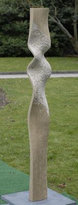 """""""Stauchung"""" Travertin 180 cm"""