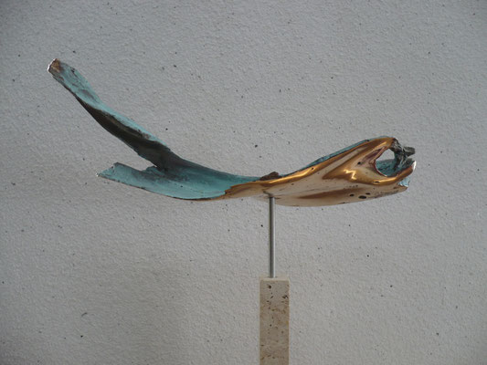 """""""Fisch"""" Bronze Breite 50 cm"""
