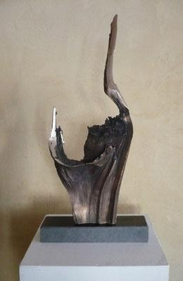 """""""Stier"""" Bronze Höhe 40 cm"""