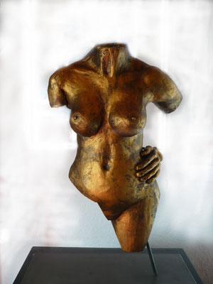 """""""Goldfinger"""" Terracotta Höhe 50 cm"""