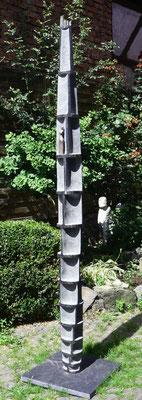 """""""Gedankengebäude"""" Diabas/Bronze 210 cm"""