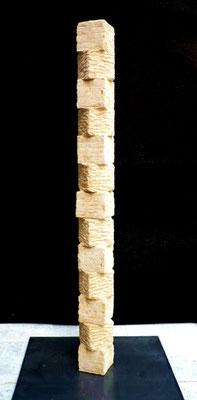 """Würfelstele"" Sandstein 120 cm"
