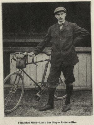 Quelle: Illustriertes (Österreichisches) Sportblatt 1. Juni 1912
