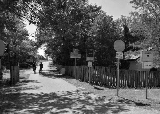 Staatsgrenze zwischen Österreich-Ungarn / Fahrradweg