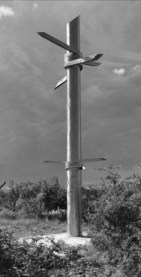 """Denkmal zum Thema """"Eisener Vorhang"""""""