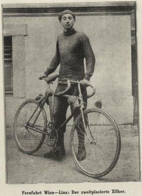 Quelle: Illustriertes (Österreichisches) Sportblatt 8. Juni 1912