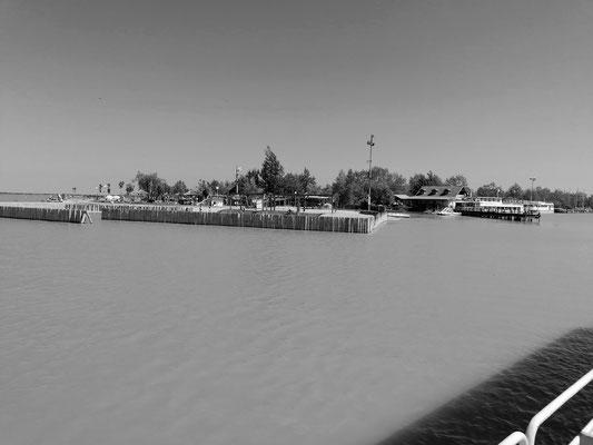 Aufnahme vom Seebad Illmitz