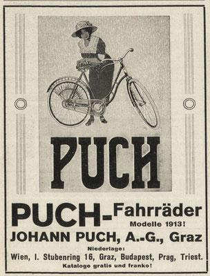 Quelle: Österr. Nationalbibliothek, Illustriertes (Österreichisches) Sportblatt, 26. April 1913
