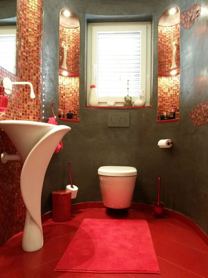 Badezimmer ohne Fliesen - stucco-decor - Kreative Spachteltechnik ...