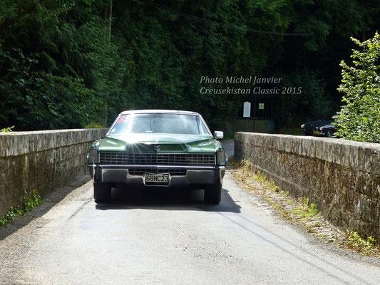La Cadillac Eldorado de Luc et Françoise Chambraud.