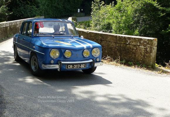 Max Mamers et Jean Vignaud sur Renault 8 Gordini 1300.