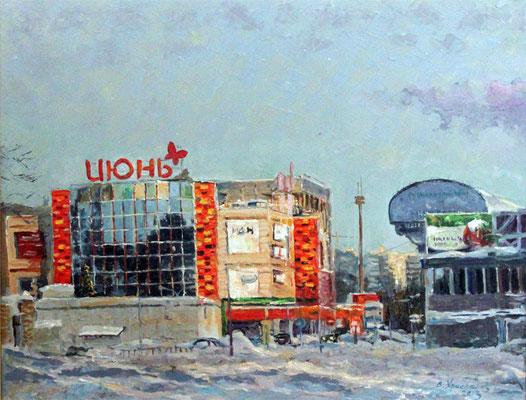 """Виктор Христанов """"Июнь в Январе"""" х,м 2013г."""