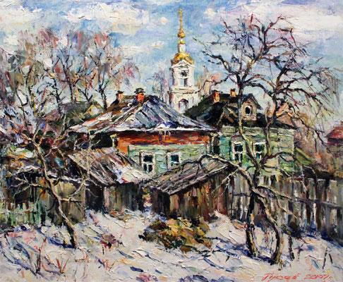 """П.С.Гусев """"Солнечный день"""" х,м 2007г."""