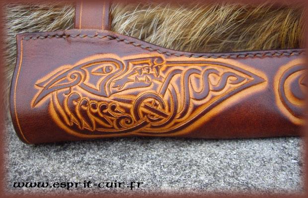 Technique de travail du cuir la couture point sellier eden esprit cuir sp cialiste du cuir - Coudre le cuir ...
