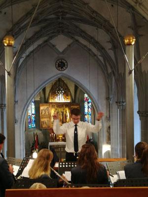 20 Jahre Partnerschaft der Städte Salzkotten und Seefeld begleitet vom Musikverein Jugendlust Scharmede
