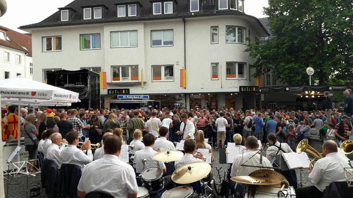 Konzert auf Libori 2017 vom Musikverein Jugendlust Scharmede