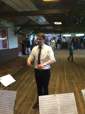 Begleitung des Menzeler Schützenfestes 2017 durch den Musikverein Jugendlust Scharmede