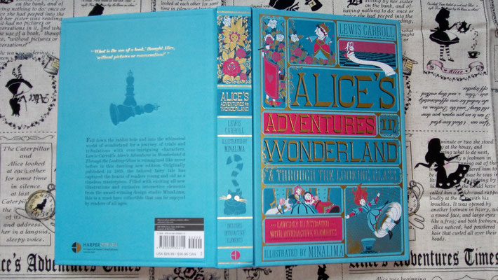 Alice's Adventures by MinaLima
