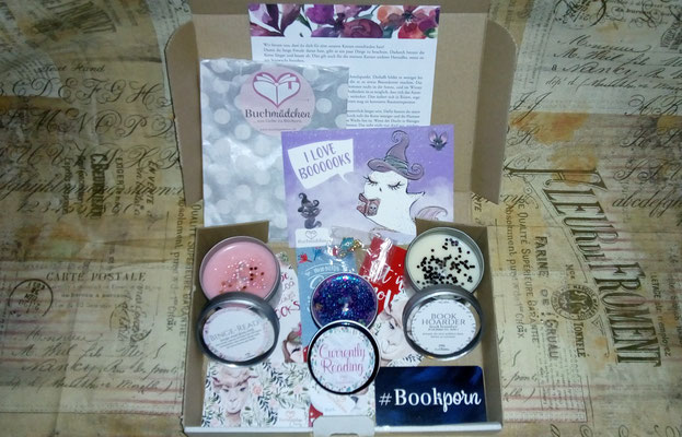 Kerzenpaket von Buchmädchen