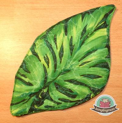 Die Blattelemente absteppen - ein 3 D Effekt entsteht