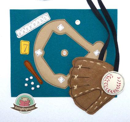 Baseballhandschuh aus Wildleder