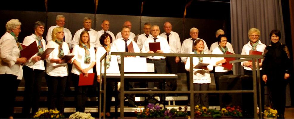 Auftritt in Osterburken des Gesangverein Frohsinn Korb