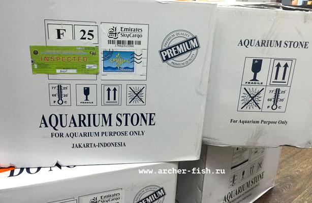 "Коробки ""Aquarium Stones"" = Аквариумные камни"