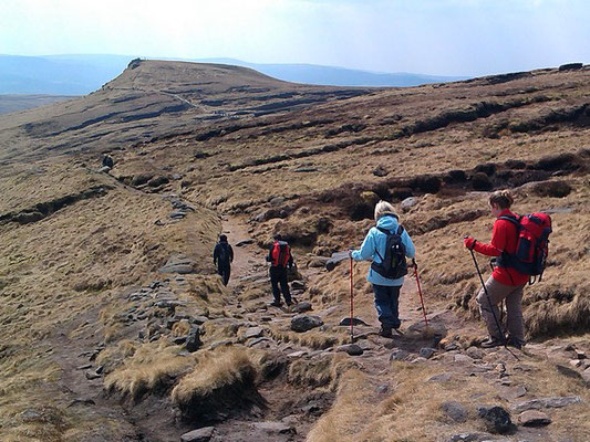 The Edale Skyline Challenge, on Kinder Scout