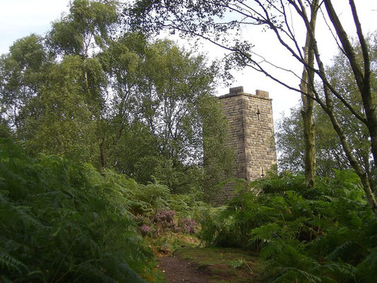 The Earl Grey Tower, Stanton Moor