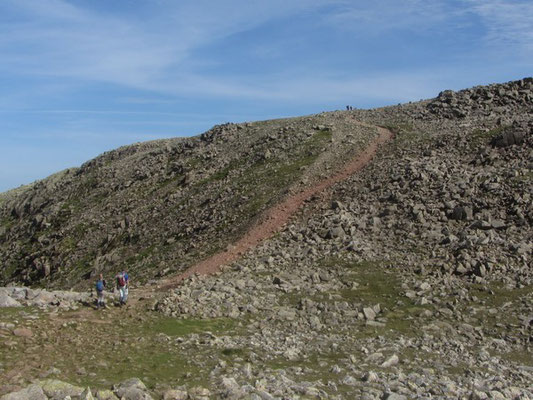 Scafell Pike the hard way guided walk